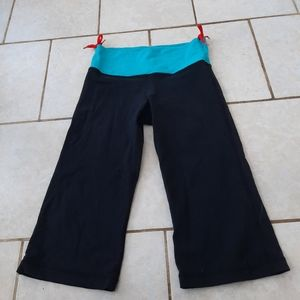 Lululemon - cropped flared pants